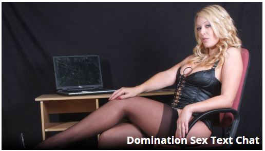 Domination Sex Text Chat UK